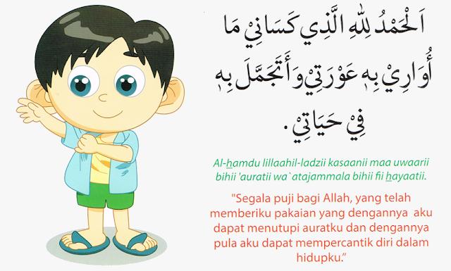 Doa Hendak Mengenakan Pakaian