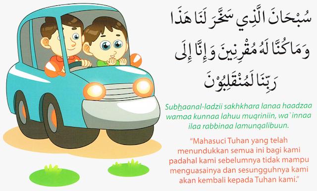 Doa Naik Kendaraan Darat