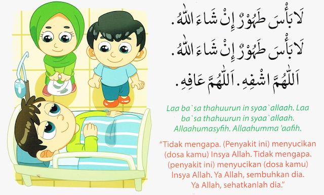 Doa Ketika Menjenguk Orang Sakit Risalah Doa