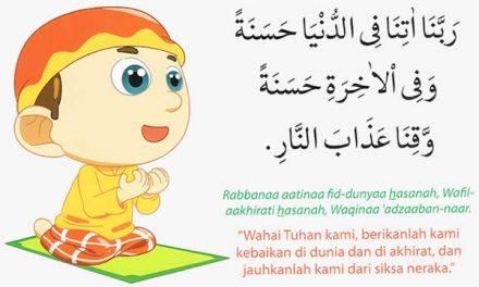 Doa Mohon Keselamatan Dunia Dan Akhirat