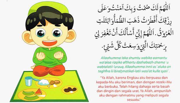 Doa/Niat Berbuka Puasa