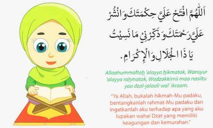 Doa Sebelum Membaca Al Quran