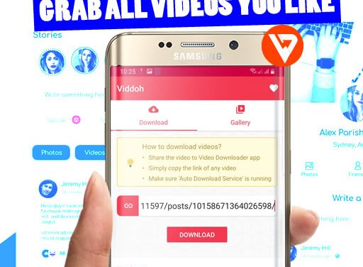 [Android App] Viddoh – Video Downloader for Facebook, Instagram and TikTok